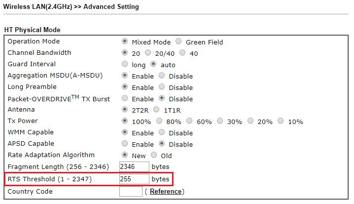 Mejorar el Rendimiento Wi Fi DrayTek 6