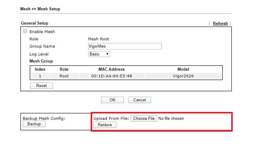Draytek Migracion de configuracion entre diferentes enrutadores 10