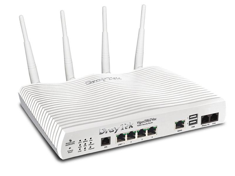 Router vigor 2862vac draytek 2