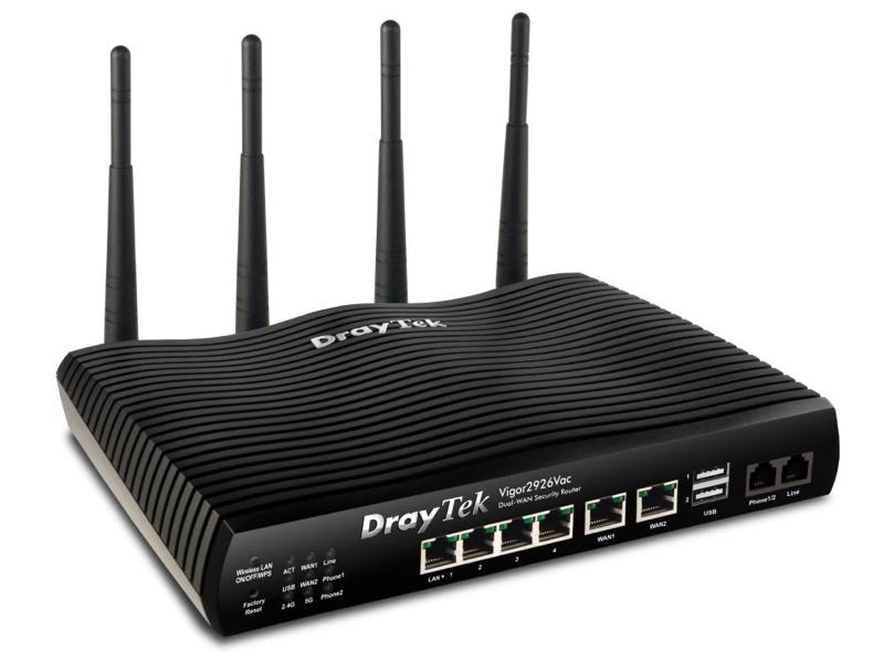 Router vigor 2926 1 Draytek