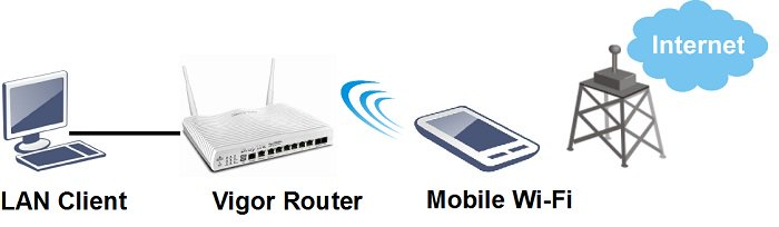 1 Wireless WAN WiFi Topology