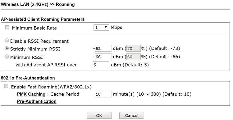 06 Roaming Advanced Page