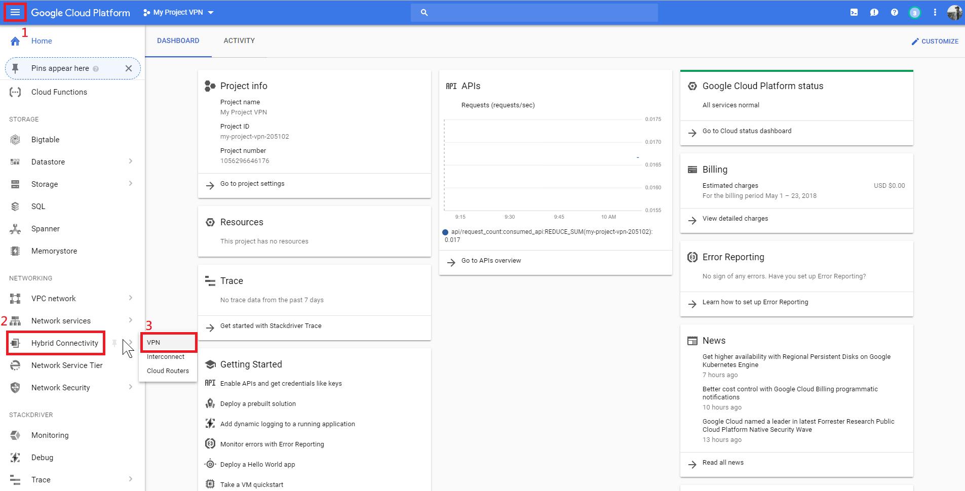 01 Google setting VPN