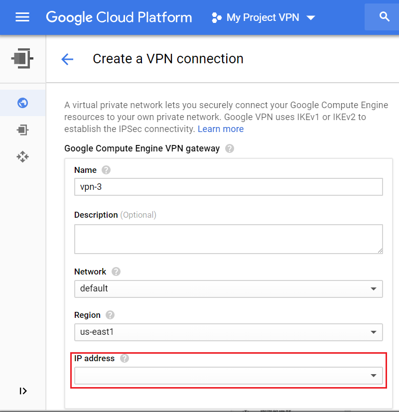 03 Google setting IP