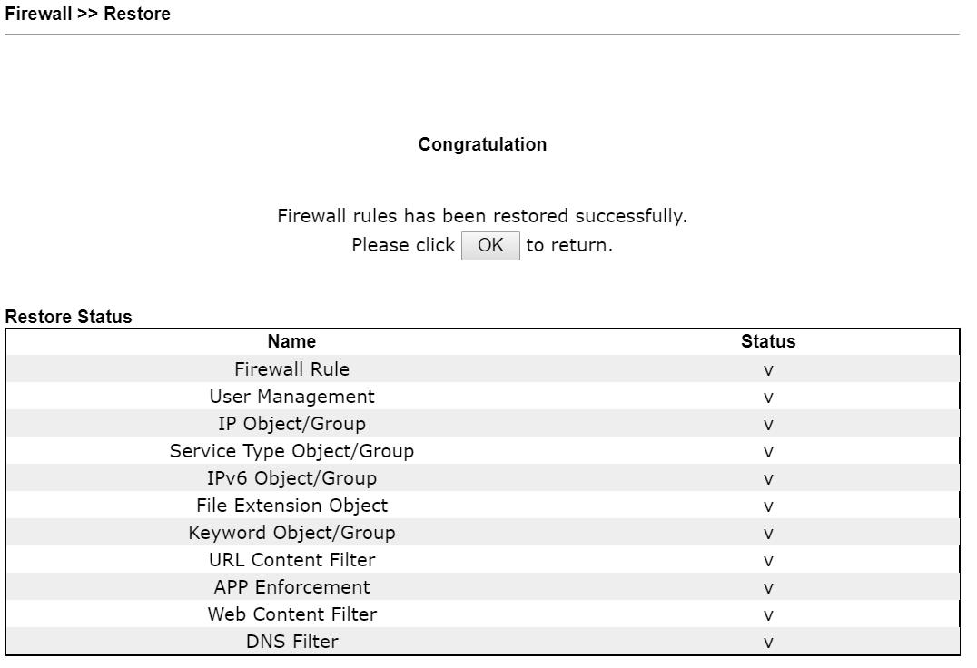 firewall restore 3