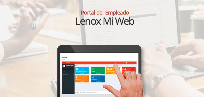 Lenox Portal del Empleado