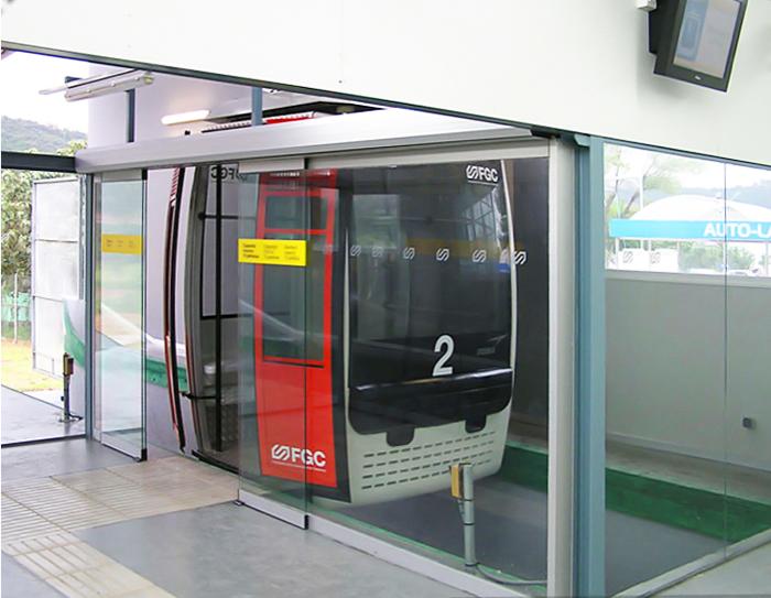 Aeri Olesa psd manusa acceso puertas automaticas 4