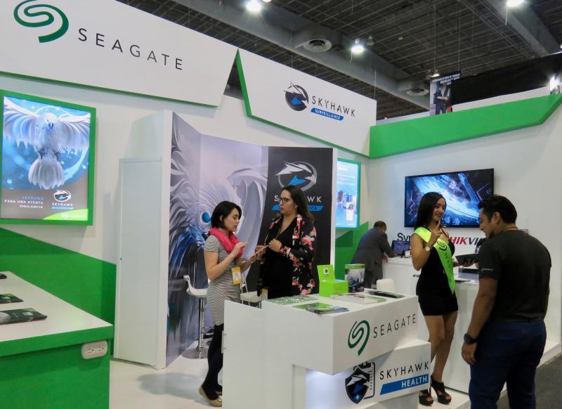 Stand SEAGATE ExpoSeguridad Mexico 2018