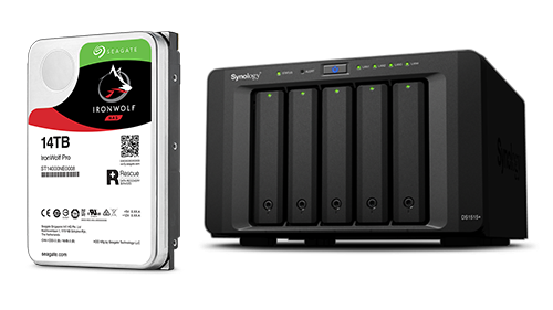 vf synology Seagate IronWolf Health Management