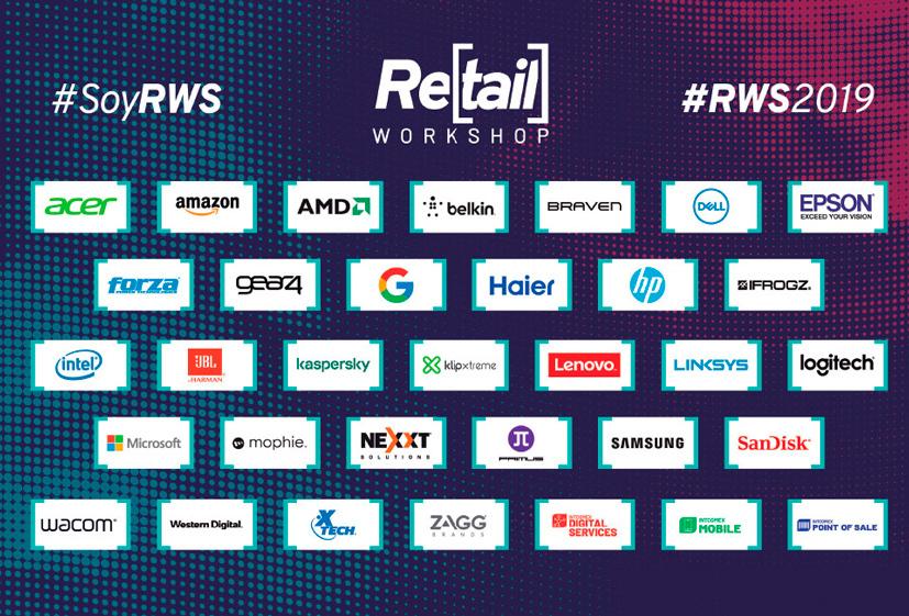 Intcomex Retail Workshop 2019 marcas
