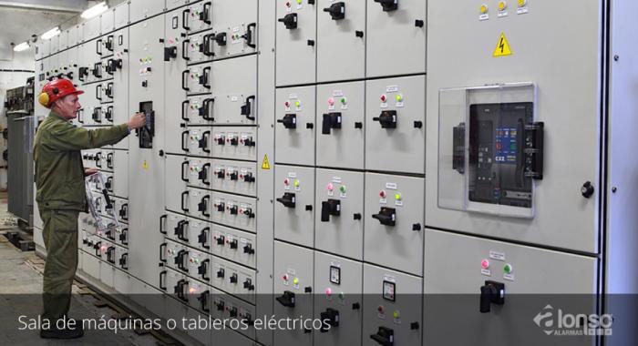 Sala de tableros elCctricos