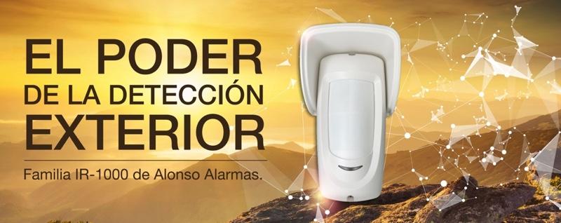 Detector exterior IR 1000 Alonso