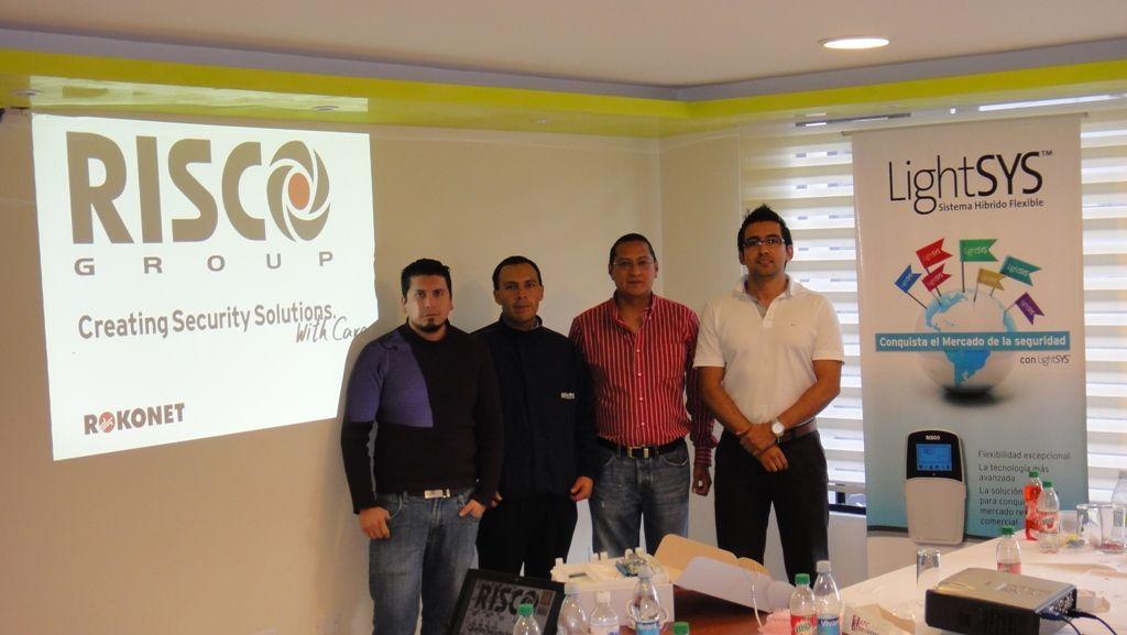 Cusro RISCO Group y Alarm Systems