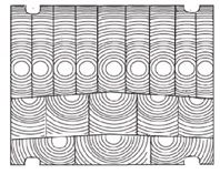Forma de un lente de Fressnell