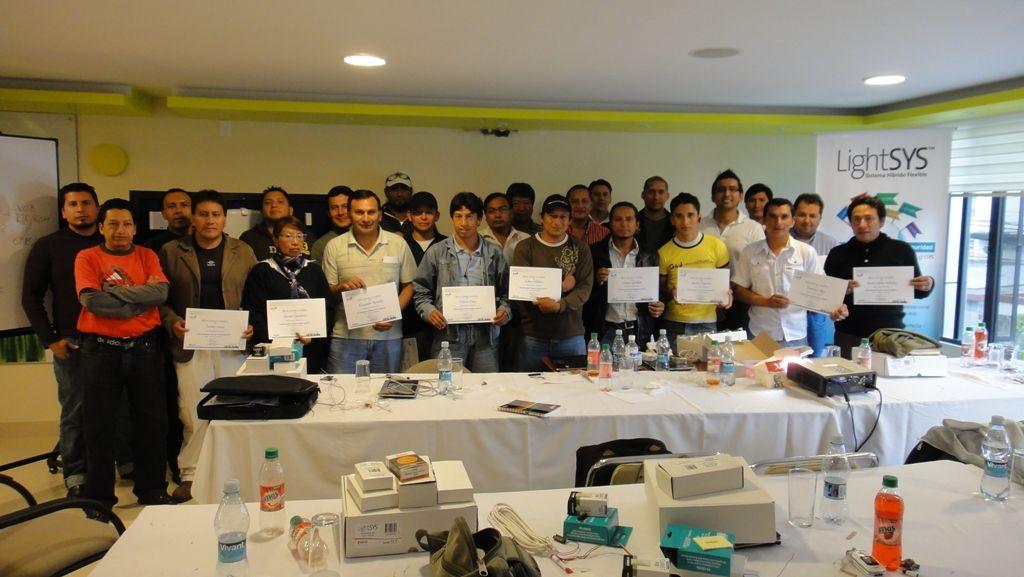 Partcipantes Cusro RISCO Group y Alarm Systems