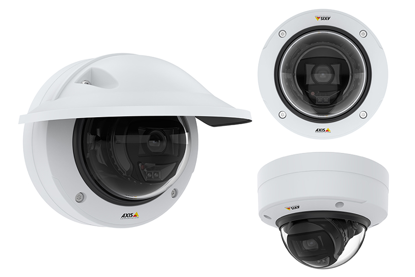 Axis P3255 LVE Domo Camera Deep Learning IA 826x551
