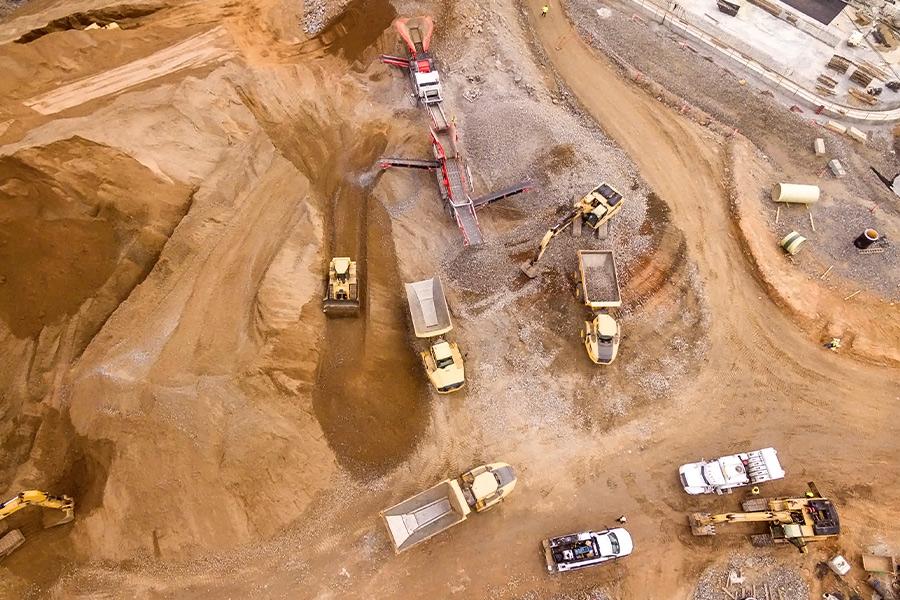 Axis Protección del perímetro en el sector minero 01