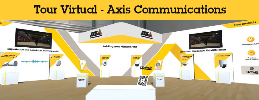 Axis Communications Productos Tour Virtual 00