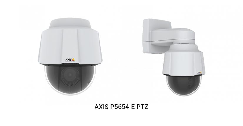 Axis Communications Productos Tour Virtual 04 AXIS P5654 E PTZ