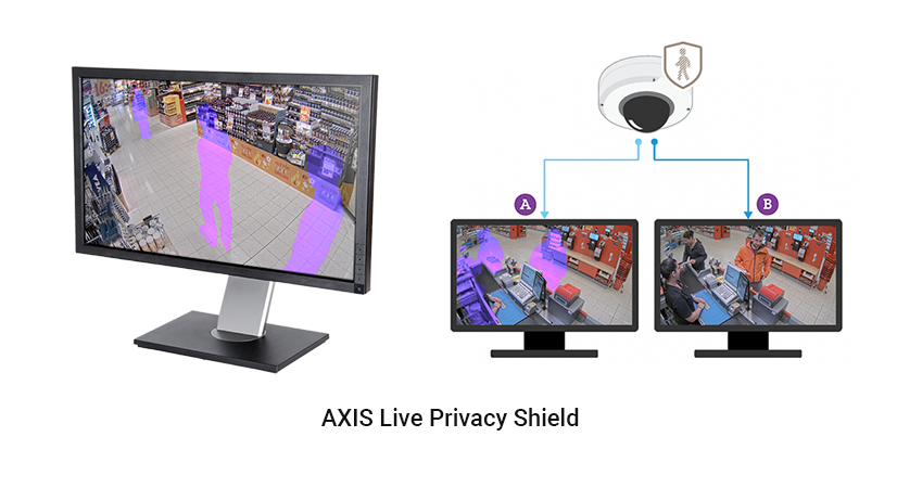 Axis Communications Productos Tour Virtual 05 AXIS Live Privacy Shield