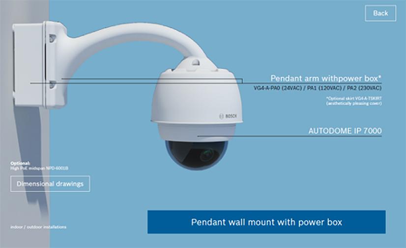 Bosch Autodome IP Starlight 7000i 10