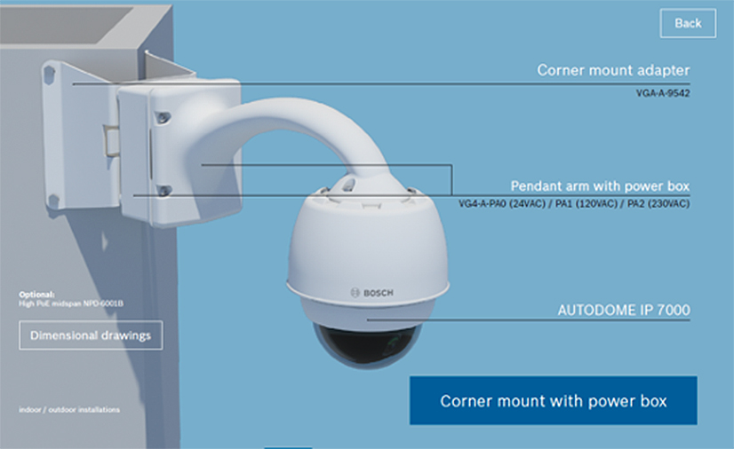 Bosch Autodome IP Starlight 7000i 12