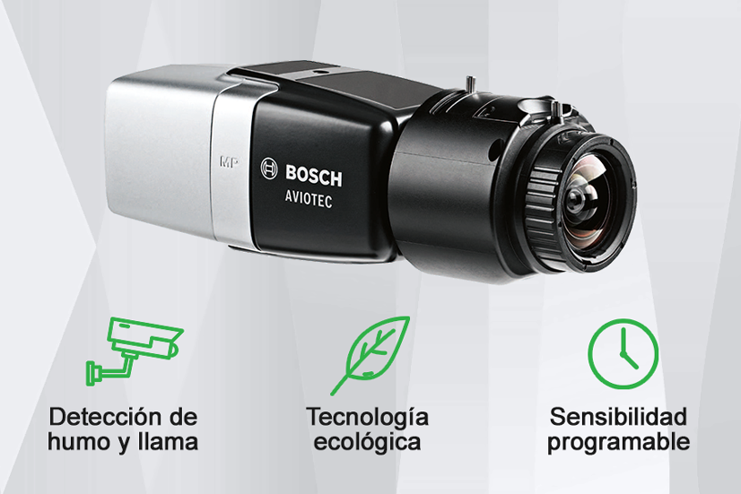 Bosch Aviotec deteccion incendio