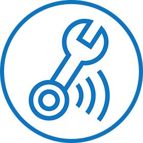 Bosch Herramientas Mantenimiento Hospitales remote maintenance icono