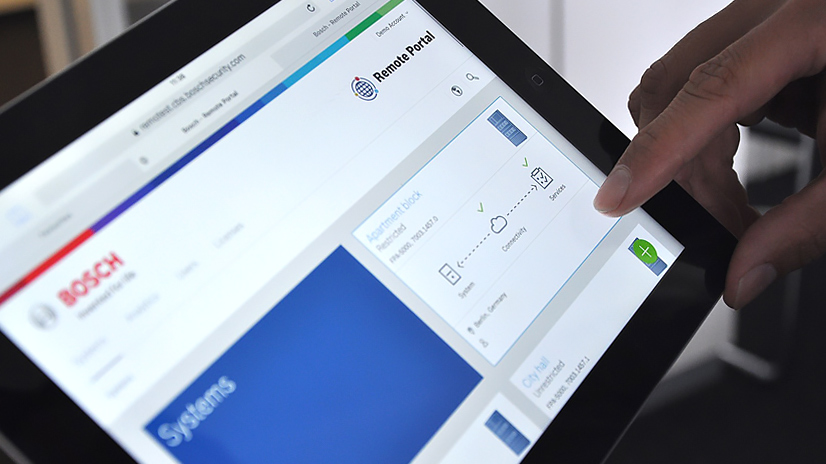 Bosch Herramientas Mantenimiento Hospitales remote portal