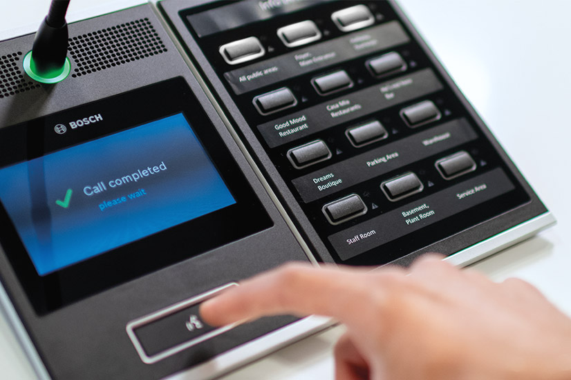 Bosch PRAESENSA Nuevas funcionalidades megafonía 01