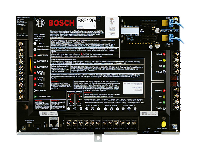Bosch Panel de Control B9512G