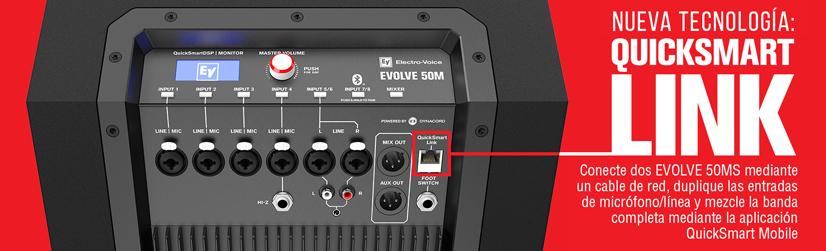 Bosch Sistemas de audio de columna EVOLVE cuerpo