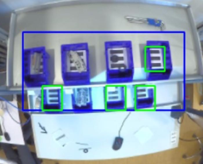 Bosch Camera trainer 9 bandejas vacias