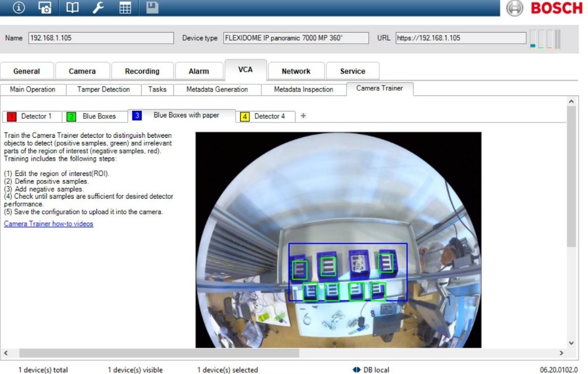 Bosch Camera Trainer 21