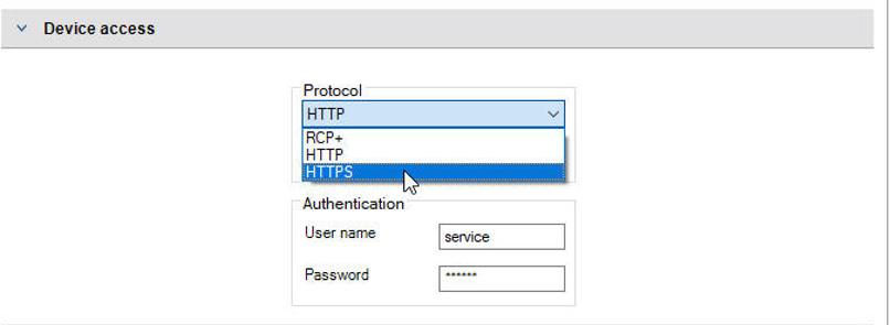 Bosch Guia ciberseguridad camaras IP 6 Device Access