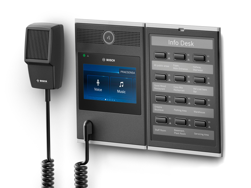Bosch Sistema de Audio Evacuacion Praesensa 04