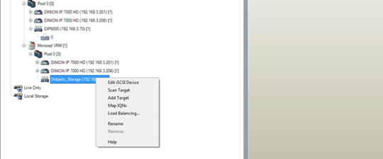Bosch Tutorial BVMS Almacenamiento Video iSCSI 019
