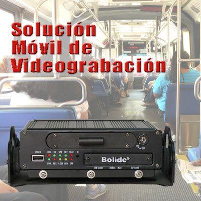 Monitoreo y videograbacion movil