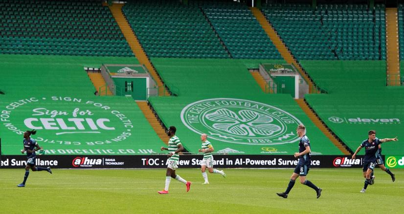 Celtic FC sera patrocinio por Dahua 01
