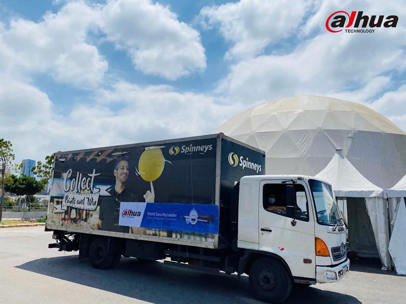 Dahua Technology dona suministros en Beirut 03