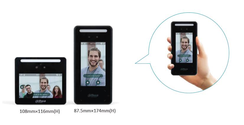 Dahua FACT Control de acceso con reconocimiento facial 02
