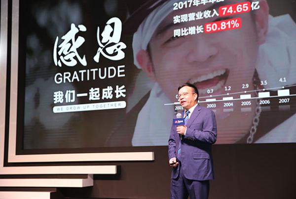 Fu Liquan Chairman Dahua presidente cuerpo