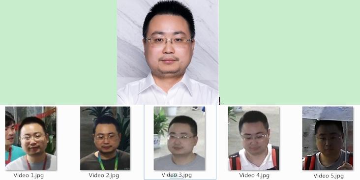 reconocimiento facial vedio