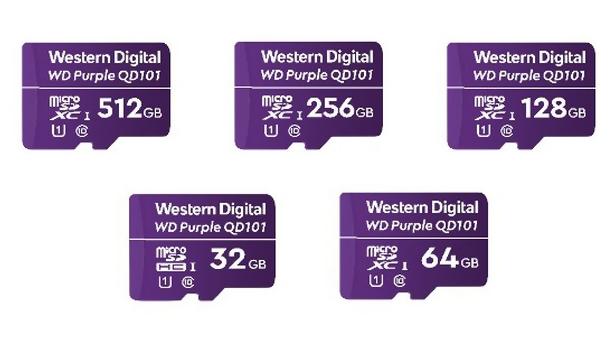 GVS Tarjetas inteligentes discos duros Micro SD WD Purple