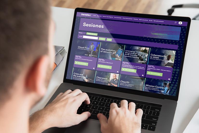Genetec Connect DX evento virtual capacitacion