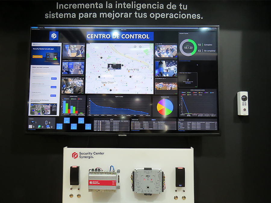 Genetec Feria 2019 centro control