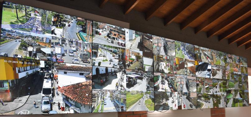 Centro de monitoreo Rionegro Hikvision 5 V2