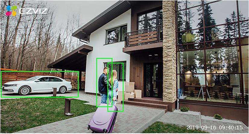 Hikvision EZVIZ Vision Nocturna a Color Cámara IP 01