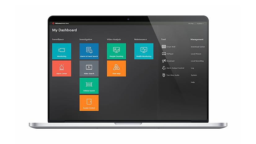 Hikvision Plataforma HikCentral
