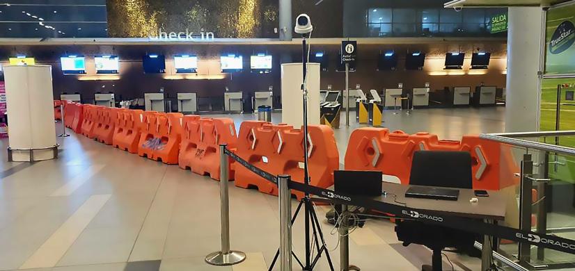 Hikvision Tecnologia Termica Aeropuerto de Bogota 01